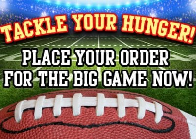 Big Game Catering