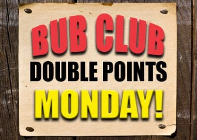 Double Points Monday