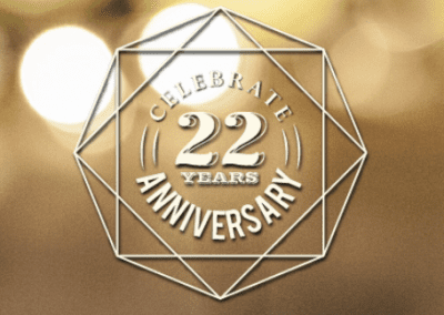 Celebrate 22 Years With Us
